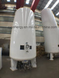 El tanque de almacenaje industrial del CO2 del argón del nitrógeno del oxígeno líquido de la presión baja