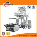 Doble capa de co-extrusión de film soplado Rotary Die Máquina Conjunto