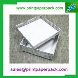 호화스러운 의복 포장 서류상 선물 상자