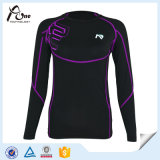 Compressione Shirts High Spandex Fitness Wear per Women