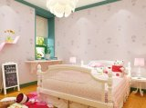 Cabritos modernos inconsútiles de los niños de Jcc que graban jardín de la infancia de la escuela del dormitorio de la tela del papel pintado