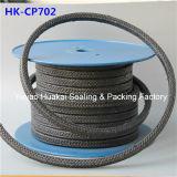 A fibra PTFE do carbono da isolação térmica da alta qualidade lubrific a embalagem da grafita