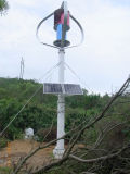 vertikaler Wind 600W Turbinefor helles System auf dem Berg
