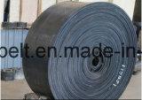 Banda transportadora de goma / tela de cinta de goma para arena / Mina / trituradora de piedra y carbón