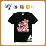Camiseta común del poliester del poliester 120g para el acontecimiento de campaña de la impresión
