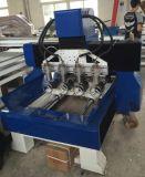 Гравировальный станок CNC рамки 3D бросания утюга, маршрутизатор CNC шпинделя 4 головок