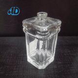 Bottiglia di vetro 80ml del profumo trasparente vuoto della materia prima Ad-R21