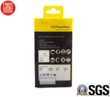 Коробка для электронных продуктов, прозрачная коробка печатание PVC/Pet/PP пластичная складывая пластичный упаковывать