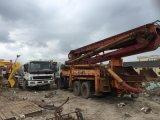 Caminhão o mais barato usado da bomba concreta, bomba concreta de Sany Isuzu para a venda