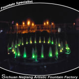 Resort popolare Building Decoration Products Fountain con Music