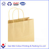 Sacs en papier faits sur commande estampés de cadeau d'achats avec votre propre logo