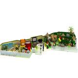 Cour de jeu en plastique d'intérieur d'enfants pour le parc d'attractions