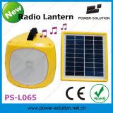 Lanterna solar Multifunction com rádio de FM