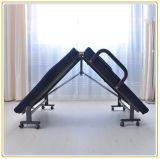 新しいデザイン調節可能な折るベッド/Cot (青い)