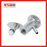 Válvula sanitária da amostra do aço inoxidável Ss304 Triclamp