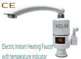 Elektrische Onmiddellijke het Verwarmen Tapkraan met de Mixer van de LEIDENE Keuken van de Digitale Vertoning & Tapkraan