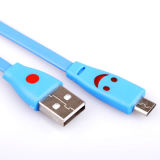 이동 전화를 위한 소형 스피커를 위한 3.5mm USB 데이터 케이블