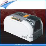 El vendedor caliente Hiti CS200e se dobla impresora lateral de la tarjeta de la identificación del PVC