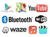 Caixa Android do sistema de navegação do GPS para a relação do vídeo de Volkswagen Sharan