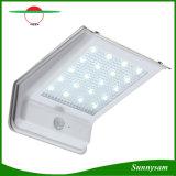 20PCS SMD 2835 LED ABS + Aluminium Panneau solaire Power Wall Light Lampe de jardin extérieure Motion + Sound Sensor Control Solar Lamp