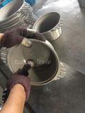 Chorreadora que aplica con brocha abrasiva del aire neumático