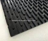Banda transportadora del PVC de la serpentina plana caliente de la venta