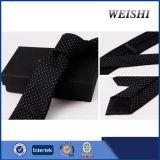 Cravate 100% faite sur commande tissée par Microfiber de polyester