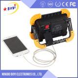 luz Emergency recarregável portátil do diodo emissor de luz da bateria de lítio 10With15W