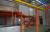 Línea de capa automática de la pintura de la alta capacidad para las puertas
