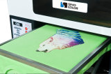 A3 DTG는 가볍고 어두운 t-셔츠를 위한 의복 인쇄 기계에 Sinocolor Tp420 지시한다