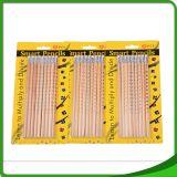 Ventes chaudes 7 pouces de gosses en bois 12 de crayon affilé de couleur