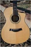 Instrumentos musicales acústicos de la guitarra de calidad superior hechos en China