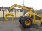 Carregador de madeira do Sugarcane com 3 rodas e 360 giratórios