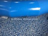 Raggruppamento rotondo di nuoto gonfiabile con il singolo tubo