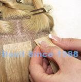 Свяжите прямые выдвижения тесьмой волос Remy