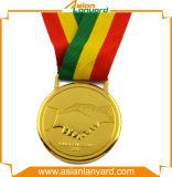 La medaglia del metallo di disegno del cliente con la pressofusione