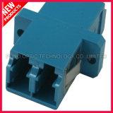 LC UPC Duplex Single Type SC avec adaptateur en plastique à bride