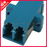 LC UPC 플랜지 플라스틱 접합기를 가진 이중 싱글모드 SC 유형