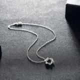 De Grote Ster van de manier zoals Klassieke die Juwelen van de Halsband van de Kleur van de Halsband van de Tegenhanger van de Bloem de Zilveren in China worden gemaakt