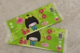 Sacs en plastique de garnitures sanitaires pour des produits de filles empaquetant le sac de gousset