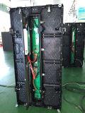 Afficheur LED de location coulé sous pression polychrome d'intérieur de Hotsale pour la publicité visuelle de mur (P3.91mm)