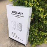 10W LED todo en una luz de calle solar del jardín