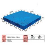 De vlakke Plastic Pallet dw-1212c1 van het Gezicht van de Oppervlakte Dubbele