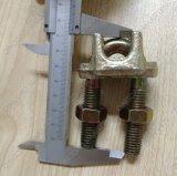 Moulant un type clip malléable de câble métallique