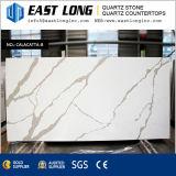 Слябы камня кварца Calacatta искусственние для поверхности Whth Countertops Polished