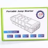 Скачка батареи автомобиля привязывает Jumpstarter с батареей лития