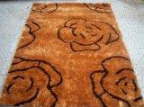 ホーム織物のカーペットおよび敷物の絹のシャギーな敷物のマット(DMY-032)