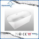 Cuba de banho autônoma sem emenda acrílica pura do banheiro (AB6513)