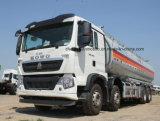 유조 트럭 40 톤 Sinotruk HOWO 8X4 40000 L 연료 탱크 트럭