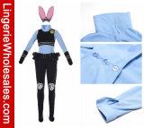Взрослый Costume Cosplay зайчика Джуди Hopps офицера Zootopia